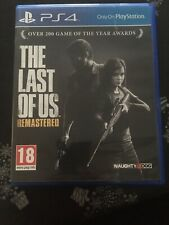 jeu video sony ps4 playstation 4 TBE the last of us remastered usk 18 ans