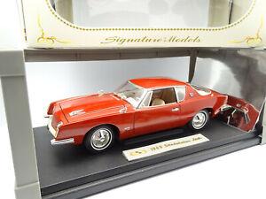 Signature Models 1/18 - Studebaker Avanti 1963 Rouge