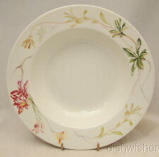 "Pontesa Ironstone Chinamoda Made in Spain Rimmed Soup Bowl(s) HTF 9"" x 1 5/8"""