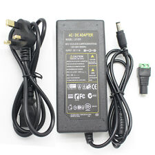 AC100-240V TO DC 12V 5A 60W Power Supply Transformer Adapter+Free UK Plug Cord