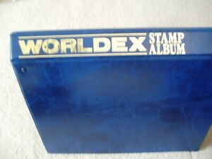 Worldex Stamp album containing MINT USA stamps from 1945 over 300 MM stamps