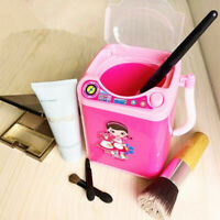 1PC Mini Electric Washing Machine Dollhouse Toy Very Useful Wash Makeup Brushes