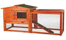 Big Wooden Rabbit Hutch Cage Outdoor Run Small Animal Habitat Ferret Guinea Pig