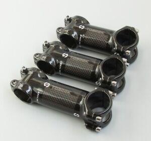 Aluminum Carbon stems 6/17° MTB Road Bike XC Bicycle bar Stem 28.6*31.8*60-120mm