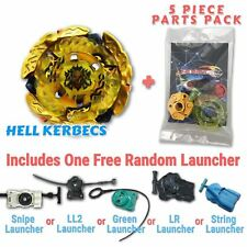 Hades Hell Kerbecs BD145DS Beyblade w/ Free Launcher & Tips / Parts / Card Pack
