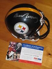 Dan Rooney signed Pittsburgh Steelers HOF NFL Mini Helmet PSA/DNA Owner