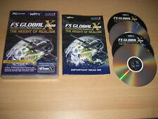 FS Global 2008 PC DVD add-on MICROSOFT Simulatore di volo SIM 2004 & x fs2004 Cockpit