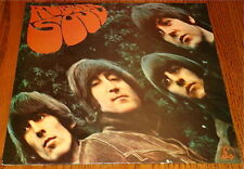 THE BEATLES RUBBER SOUL IMPORT LP MADE IN GREAT BRITAIN