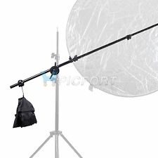 PRO Studio Photo Holder Bracket Swivel Head Reflector Arm Support Sandbag Kit