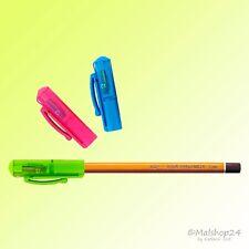 Anspitzer 3 in 1: Spitzer Stiftverlängerer Schutzkappe f Bleistifte Buntstifte