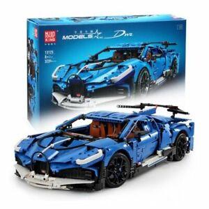 Mould King 13125 Technik 3858 Teile Bugatti Divo Bausteine Sportwagen 1:8 Auto