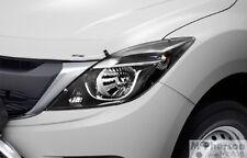 Genuine Mazda BT-50 Headlight & Clear Bonnet Protector Combo UP UR Model 2011 On