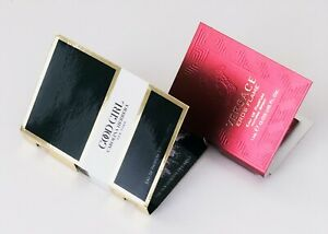 Versace Eros Flame .03 oz/1 ml + Good Girl Carolina Herrera .05 oz/1.5 ml Sample