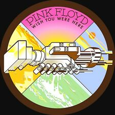 Pink Floyd-Wish You Were Here Vinyl LP 60's 70's Hard Rock Sticker, Magnet