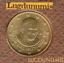 Vatican 2011 – 50 Centimes d'Euro – 94 000 exemplaires Provenant du coffret BU R