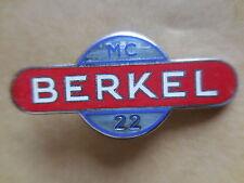 distintivo affettatrici Berkel MC 22