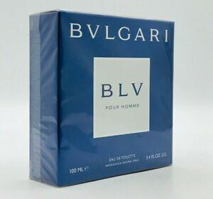 BVLGARI BLV POUR HOMME MEN COLOGNE 3.4 OZ SPRAY NEW IN SEALED BOX