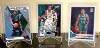 Boston Celtics Card Lot (x3) Tatum /40, Falls Mosaic, Waters Rated Rookie