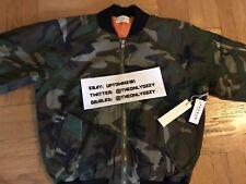 PACSUN X FOG FEAR OF GOD BOMBER JACKET CAMO SZ XL flannel jeans jacket shirt t