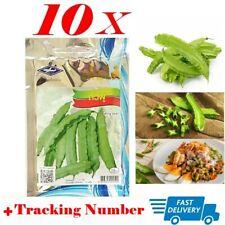 10x Winged Bean Seeds Thai Vegetable Garden Easy Planting 25 Seeds/Pack + Track