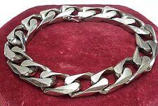 Massives, breites 835 Silber Armband von Andreas Daub Pforzheim punziert - A 697