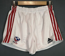 ADIDAS MEN'S RUGBY UNION USA UNITED STATES OF AMERICA SHORTS PANTALONES SIZE L