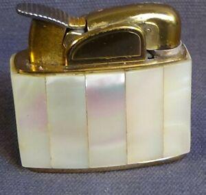 cigarette lighter: Evans, mother of pearl body