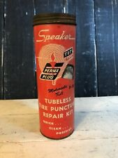 Vintage Speaker Tubeless Tire Puncture Repair Kit