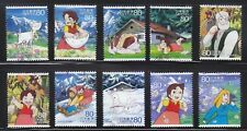 JAPAN 2013 ANIMATION HERO 19TH ISSUE HEIDI GIRL OF THE ALPS COMP. SET 10 STAMPS