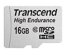 Transcend Computer Zubehör Speicherkarten 16GB Micro SD SDHC-Adapter NEU