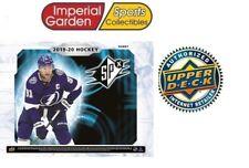 2019-20 Upper Deck SPx НХЛ хобби хоккей заводской запечатанной коробке