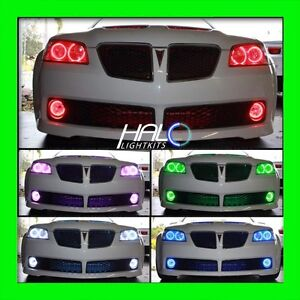 2008-2009 ORACLE PONTIAC G8 COLORSHIFT LED LIGHT HEADLIGHT+FOG HALO KIT W/REMOTE
