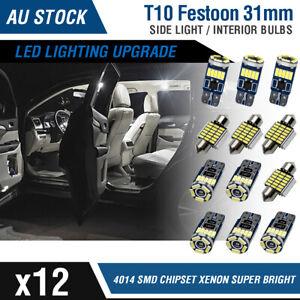 Premium Lighting Upgrade SMD Xenon White 31mm LED T10 Interior Light Kit - 12x