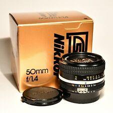 NIKON Nikkor 50mm f. 1,4 AI-S con box *** ECCELLENTI CONDIZIONI ***