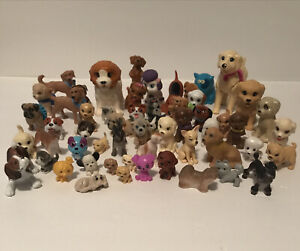 Barbie Animal Pet Friend Figure Lot of Mixed Princess Dogs Puppies Pup Doggy