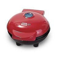 Storebound DMW001RD Dash Go Mini Waffle Maker, Red