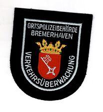 Aufnäher Patch Ortspolizei Behörde Bremerhaven Verkehrsüberwachung