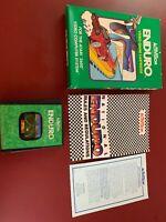 Enduro, Atari 2600, Complete In Box Cib!