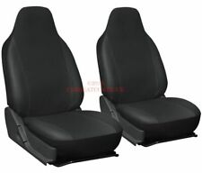 Mazda 2 (2007-) Heavy Duty Leatherette Car Seat Covers - 2 x Fronts