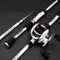 3M Feeder Rod LMH Power Angelrute Ultraleichtes Gewicht 6-teiliges Carbon Spinning Travel Rod Angelger/ät De Pesca