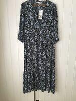 Zara The Amanda Dress Size M BNWT Sold Out  Maxi Dress