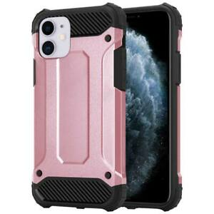 For iPhone 11 Phone Case, Heavy Duty Rugged Shock Proof Armour Hybrid Cover