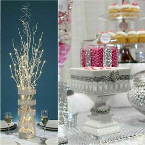 Crystal Diamante Mesh Ribbon Rhinestone Effect Trim Craft Wedding Cake Decor