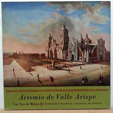 ARTEMIO DE VALLE ARIZPE LP VOZ VIVA DE MEXICO (VV-5, UNAM13/14) 1960 #5 VVDM EXC