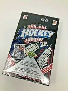 1990-91 Upper Deck  Factory Sealed Box High Series 🔥 ROOKIES!