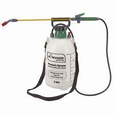 Pressure Sprayer 5l Litre Garden Spray Knapsack Kill Weeds Chemicals Pump Action