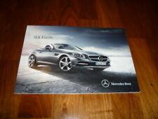 Mercedes SLK Prospekt 12/2014
