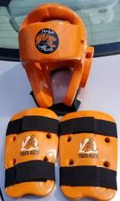 Ho-Am Tiger Rock Sparring Gear Taekwondo Youth Martial Arts Equipment Orange