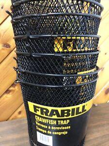 Lot Of 4 Frabill Crawfish Net Trap Heavy Duty Metal Mesh New