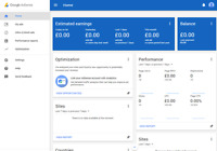google adsense United Kingdom non hosted new policy account for website